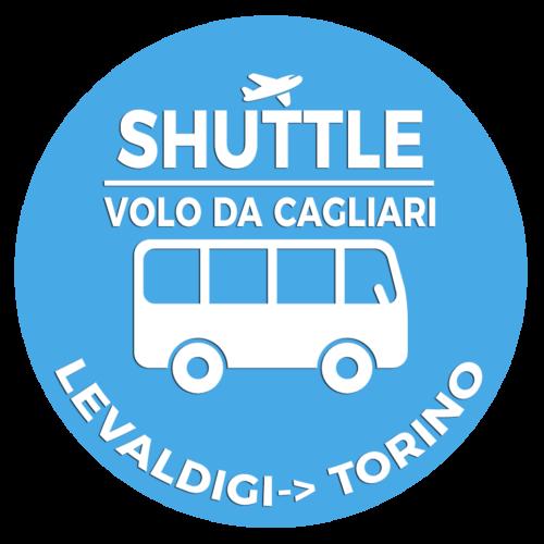Shuttle Mano Autobus Navetta Cuneo Torino Lingotto Volo da Cagliari