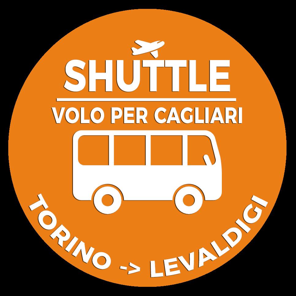 Shuttle Mano Autobus Navetta Cuneo Torino Lingotto Volo per cagliari