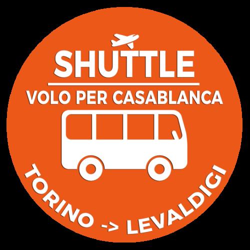 Shuttle Mano Autobus Navetta Cuneo Torino Lingotto Volo per casablanca
