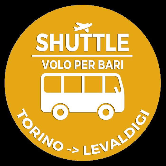 Navetta Torino Lingotto Aeroporto Levaldigi Volo per Bari