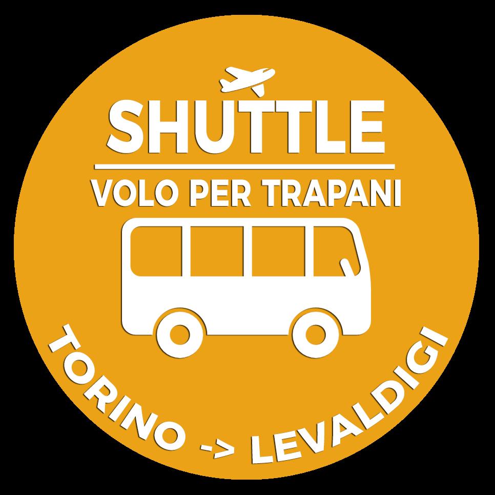 01.Shuttle Mano Autobus Navetta Cuneo Torino Lingotto Volo per Trapani