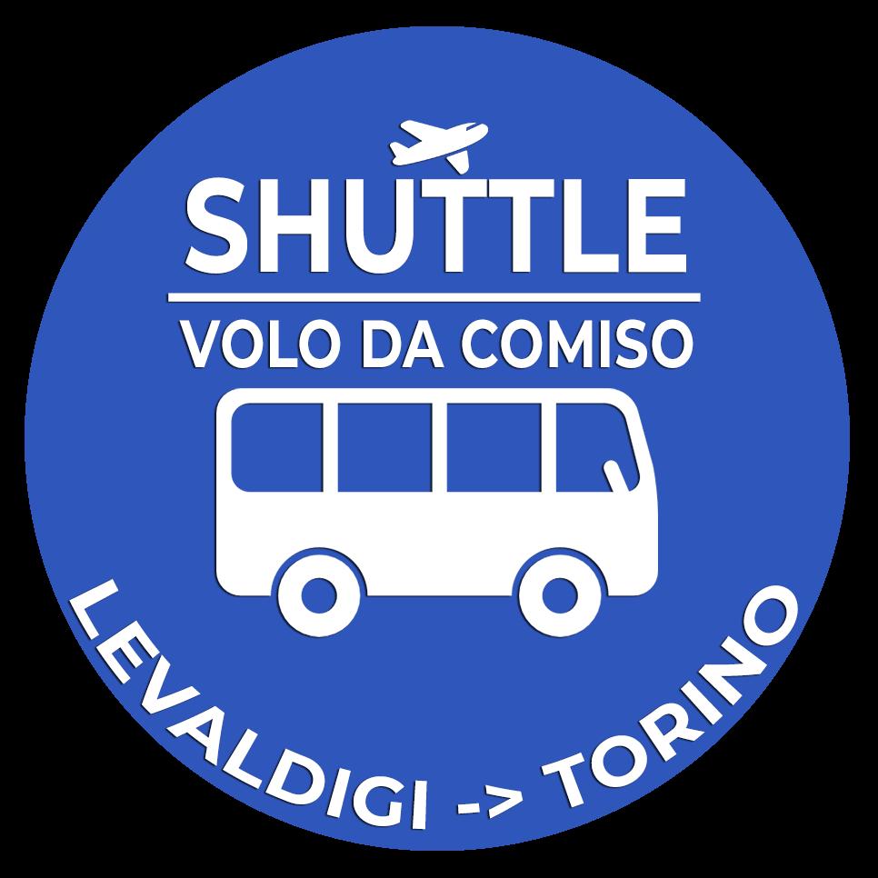 Navetta Aeroporto Levaldigi Torino Lingotto Volo da Comiso