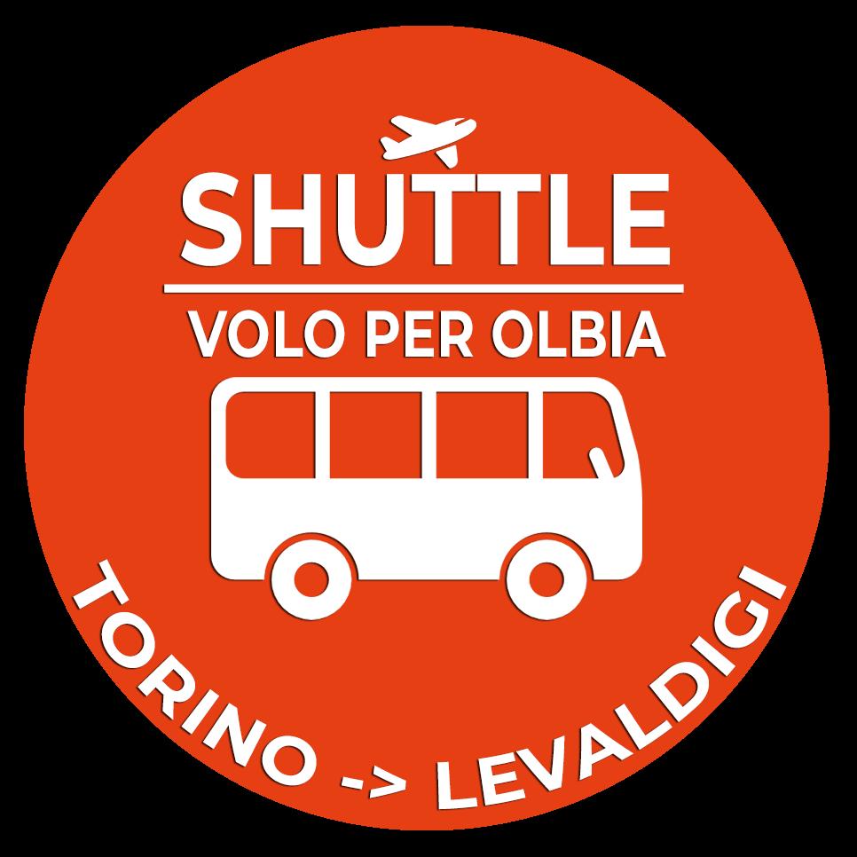 01.Shuttle Mano Autobus Navetta Cuneo Torino Lingotto Volo per Olbia